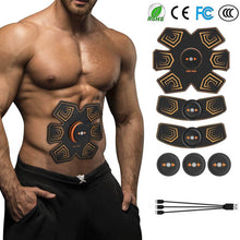 Load image into Gallery viewer, Abdominal Muscle Stimulator EMS  Electrostimulation Toning Belts Abs Trainer Toner Workout Home Fitness Training Equipment