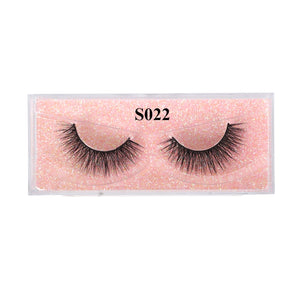 Eyewin False Eyelash 3D Mink Lash 100% Cruelty Free Lashes Cilios Dramatic Reusable Natural Eyelashes Popular Fake Lashes Makeup