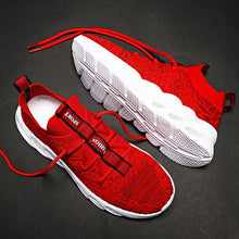 Load image into Gallery viewer, Breathable Socks Running Shoes 46 Light Men's Sports Shoes Large Size Comfortable Sneakers 45 Fashion Jogging Casual Shoes