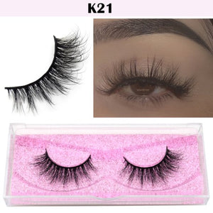 Visofree Eyelashes 3D Mink Lashes natural handmade  volume soft lashes long eyelash  extension real mink eyelash for makeup E01