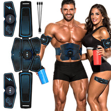 Load image into Gallery viewer, Abdominal Muscle Stimulator Trainer EMS Abs Fitness Equipment Training Gear Muscles Electrostimulator Toner Exercise At Home Gym