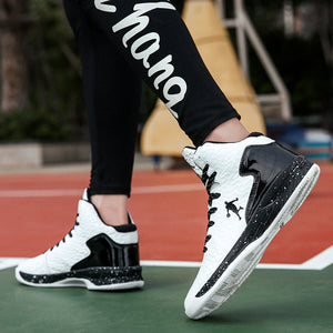 High-top Jordan Basketball Shoes 47 Men Outdoor Sneakers 46 Women Wear Resistant Cushioning Shoes Breathable Sport Shoes Unisex