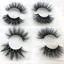 Load image into Gallery viewer, INICE lashes vendor 27mm 25mm 6D mink false eyelashes 5D Mink lashes with custom cases logo