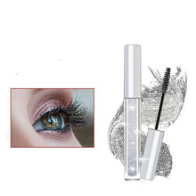 Load image into Gallery viewer, iflovedekd Sparkling Diamond Shiny Charm Mascara Waterproof eyelash professional eye liner Curling Lengthening