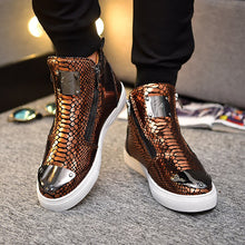 Load image into Gallery viewer, Bota Masculina High-Top Shoes 2020 Factory Direct Men 's Shirt Luxury Shoes Men Sneakers Casual