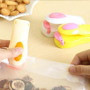 Portable Mini Heat Sealing Sealing Machine Food Saver For Plastic Bags Package Mini Gadgets For Storage Bag Sealing