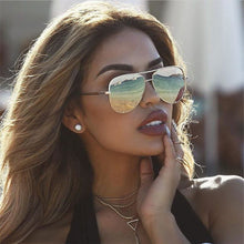 Load image into Gallery viewer, Sexy Lady Vintage Round Metal  Sunglasses Men Driving Black Retro Mirror Sun Glasses Lady Shade Sunglasses UV400 Oculos De Sol