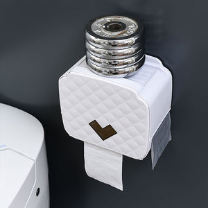 ONEUP Portable Toilet Paper Holder Plastic Waterproof Paper Dispenser For Toilet Home Storage Box Bathroom Accessories