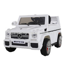 Load image into Gallery viewer, Hot selling licensed Mercedes G wagon ride on toys smart 12v electric ride on cars kids toys