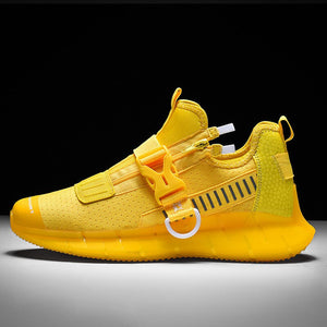 2020 West Bay Yellow Unisex Sneakers Fashionable Cool Running Shoes Men Outdoor Jogging Walking Shoes Tennis sneakers Women