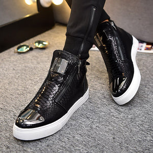 Bota Masculina High-Top Shoes 2020 Factory Direct Men 's Shirt Luxury Shoes Men Sneakers Casual