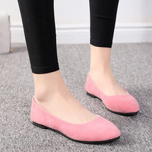 Load image into Gallery viewer, New 2020 New Spring Shoes Women Flats Top quality Flat Shoes  European Style  Loafers Round Toe Casual Shoes Plus Size 7-10