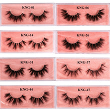 Load image into Gallery viewer, Eyewin False Eyelash 3D Mink Lash 100% Cruelty Free Lashes Cilios Dramatic Reusable Natural Eyelashes Popular Fake Lashes Makeup