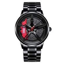 Load image into Gallery viewer, NIBOSI Wheel Rim Hub Watch Custom Design Sport Car Rim Watches Waterproof Creative Relogio Masculino 2020 Watch Man Wrist Watch