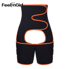 Load image into Gallery viewer, FeelinGirl Neoprene Slim Thigh Trimmer Leg Shapers Slimming Belt Waist Trainer Sweat Shapewear Fat Burning Compress Belt