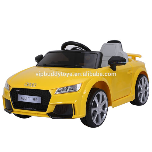 Licensed AUDI TT RS battery powered kids ride on electric car toys for plastic 2018 children