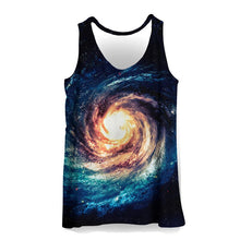 Load image into Gallery viewer, 3D Tank Tops Men Colorful Painting Print Sleeveless Vest Summer Bodybuilding Cool Fashion Casual Tops Streetwear