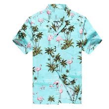 Load image into Gallery viewer, Custom printed cheap cool lightweight cotton hawaiian shirt for men