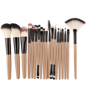 MAANGE 18pcs/set Makeup Brushes Kit Powder Eye Shadow Foundation Blush Blending Beauty Women Cosmetic Make Up Brush Maquiagem