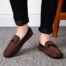 Load image into Gallery viewer, Rommedal  Summer Suede Leather Mens Loafers Luxury Brand Top Men's Casual Shoes Slip On Boat Shoes For Men Moccasins Chaussure