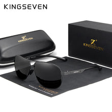 Load image into Gallery viewer, KINGSEVEN 2020 Brand Men Aluminum Sunglasses Polarized UV400 Mirror Male Sun Glasses Women For Men Oculos de sol