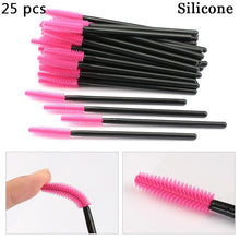 Load image into Gallery viewer, Eyelash Extension Disposable Eyebrow brush Mascara Wand Applicator Spoolers Eye Lashes Cosmetic Brushes Set makeup tools