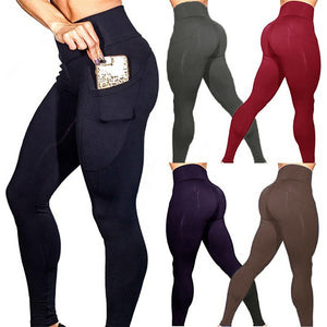 Wholesale leggings custom printed women fashion pants and trousers