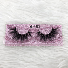 Load image into Gallery viewer, Mikiwi Thick Long 5D mink eyelashes long lasting mink lashes natural dramatic volume eyelashes extension 3d false eyelash