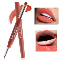 Load image into Gallery viewer, 20 color matte lipstick lip liner 2 in 1 brand makeup lipstick matte durable waterproof nude red lipstick lips make up