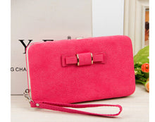 Load image into Gallery viewer, new Casual Long Women heel Purses Box Wallets Card Holder Mobile handbag case storage bag
