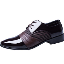 Load image into Gallery viewer, Wholesale new men's business dress shoes Large size men's leather shoes