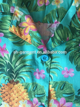 Load image into Gallery viewer, Ladies printed Hawaiian shirt-- 2018 new designs 047