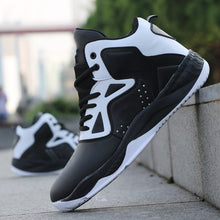 Load image into Gallery viewer, Men Professional High-top Basketball Shoes Men's Cushioning Light Basketball Sneakers Anti-skid Breathable Outdoor Sports Shoes