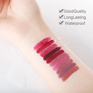COSCELIA Matte Lipstick Velvet Sexy Lip gloss Set Cosmetic Lip Tint lip gloss Waterproof 4pcs lipstick for lips Moisturizer