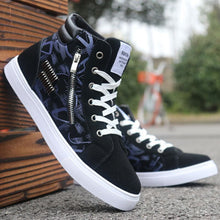Load image into Gallery viewer, Men Casual Skateboarding Shoes High Top Sneakers Sports Shoes Men Outdoor Breathable Walking Shoes Street Shoes Chaussure Homme