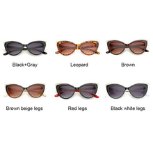 Load image into Gallery viewer, Cat Eye Sunglasses Women Vintage Fashion Butterfly Mirror Sun Glasses Female Retro Summer Style Metal Eyeglasses Luxury