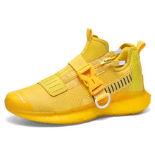 Load image into Gallery viewer, 2020 West Bay Yellow Unisex Sneakers Fashionable Cool Running Shoes Men Outdoor Jogging Walking Shoes Tennis sneakers Women