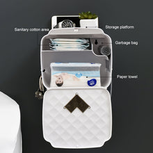 Load image into Gallery viewer, ONEUP Portable Toilet Paper Holder Plastic Waterproof Paper Dispenser For Toilet Home Storage Box Bathroom Accessories