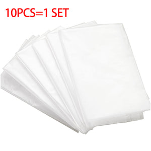 1 Bag 10 Pcs/lot Disposable Toilet Seat Cover Mat 100% Waterproof Toilet Paper Pad For Travel/Camping Bathroom Accessiories NEWS
