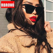 Load image into Gallery viewer, RBROVO 2019 Plastic Vintage Luxury Sunglasses Women Candy Color Lens Glasses Classic Retro Outdoor Travel Lentes De Sol Mujer