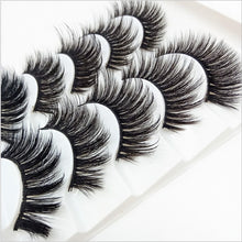 Load image into Gallery viewer, HBZGTLAD 5/18/20 Pairs 3D Soft Mink False Eyelashes Handmade Wispy Fluffy Long Lashes Natural Eye Extension Makeup Kit Cilios