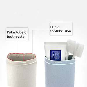 1PC Portable ToothBrush Storage Box Travel Camping Toothbrush Case Cover Safety Health Bathroom Storage Organizer Box