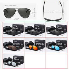 Load image into Gallery viewer, 2020 HD Polarized UV 400 men's Sunglasses brand new male cool driving Sun Glasses driving eyewear gafas de sol shades with box