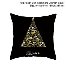 Load image into Gallery viewer, 45X45CM Pillow Case Merry Christmas Decoration For Home 2019 Christmas Ornament Christmas Gift Cristmas Noel