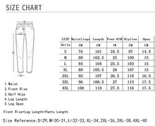 Load image into Gallery viewer, Men's Skinny Stretch Ripped Jeans HipHop Distressed Skinny Slim Fit Jean Pants Damaged Denim Pants Street ropa de hombre jeans