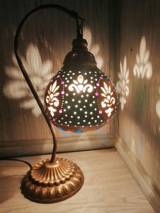 Lampshade Night Lamp High Quality Material Gourd lamp table lamp Handmade cover desk lights for bedroom study home reading