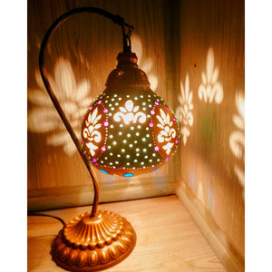 Lampshade High Quality Material Gourd lamp table lamp  Handmade  cover desk lights for bedroom study home reading