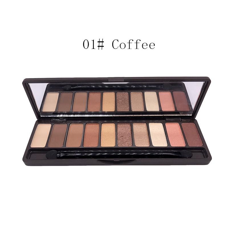 10 Colors Eyeshadow Glitter Palette Matte Eye Shadow Naked Palette Makeup Tool