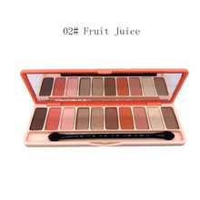 Load image into Gallery viewer, 10 Colors Eyeshadow Glitter Palette Matte Eye Shadow Naked Palette Makeup Tool
