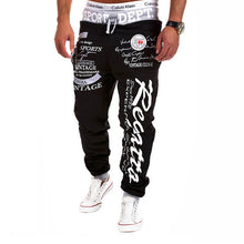 Load image into Gallery viewer, SWAGWHAT Men Pants Hip Hop Joggers Pants 2019 New Male Trousers Men Letters Printed Casual Pants Sweatpants Man Dancing wear